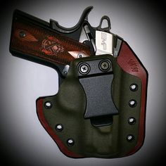 Springfield EMP in a Leatherback Hybrid Holster from WW Tactical Systems. wwtacticalsystems.com