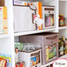 Thirty-One helps organize small spaces, fashionably and functionally!