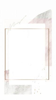 Gold Wallpaper Background, Framed Wallpaper, Wallpaper Backgrounds, Aesthetic Pastel Wallpaper, Aesthetic Wallpapers, Fond Design, Instagram Frame Template, Photo Collage Template, Instagram Background