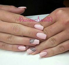 Paznokciarnia. Paznokcie żelowe. #nude #pink #nails