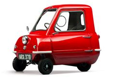 1964 Peel P50. So weird. So ugly. So cute. So awesome. But I can't haul anything with that