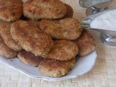 magiczna kuchnia Kasi: Kotlety ryżowe z tuńczykiem