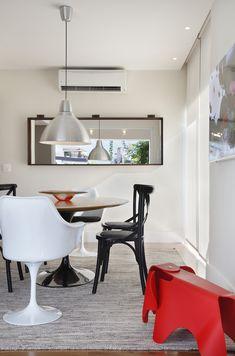 Casa de valentina; projeto; apartamento; cobertura; sala de jantar