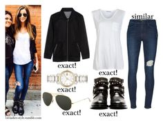 """""""Eleanor"""" by eleanor-calder-outfits ❤ liked on Polyvore featuring Calder, Yves Saint Laurent, Burberry, T By Alexander Wang, Ray-Ban and Frame"""