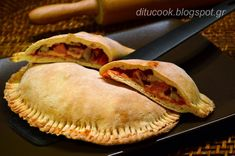 Calzone, Greek Recipes, Cooking Time, Hot Dog Buns, Apple Pie, Food Processor Recipes, Dinner Recipes, Pizza, Bread