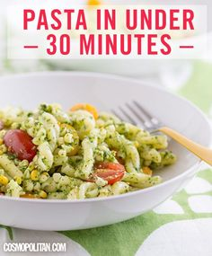 Quick Pasta Recipes - 20 Fancy Pasta Dishes in Under 30 Minutes