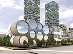 Vertical Forest in Milan, an ongoing project. Lovely. - Painter Perth Australia http://www.painterperth.com/