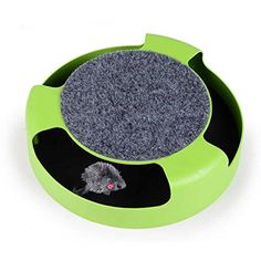 BETOP Pet Cat Funny Mice Hit and Hide Track Toy with Pet Stage * More info could be found at the image url.