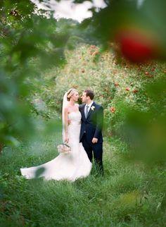 Photography: Marta Locklear - martalocklear.com Read More: http://www.stylemepretty.com/2014/05/09/outdoor-southern-orchard-wedding/