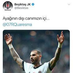 #Quaresma #Beşiktaş #Siyah_Beyaz  #ayağınındışıcanımızıniçi