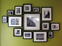 Picture frames on wall layouts hanging ikea gallery wall frames smak ikea gallery wall best gallery wall ideas on frames within picture Ikea Gallery Wall, Gallery Wall Layout, Gallery Wall Frames, Black Frames On Wall, Gallery Walls, Ikea Cadre Photo, Marco Ikea, Photowall Ideas, Frame Layout