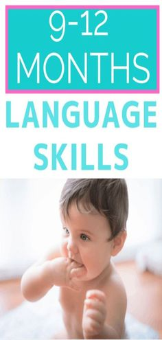 Communication Development 9-12 months includes a variety of skills that will help your infant learn to listen and talk. Find out what language milestones to look for from 9-12 months and find out how to support infant development through baby play and daily routine activities. 9 month old language development can be supported by parents and caregivers throughout the day using simple strategies. 9 Month Old Baby Activities, Daily Routine Activities, Infant Activities, Learning Activities, Communication Development, Communication Activities, Language Development, Baby Development, 9 Month Old Development