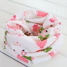 2016 Fashion Autumn Winter Baby Scarf Kids Children Scarves Cotton Collar Neck Scarf