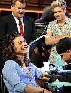 Harry smile