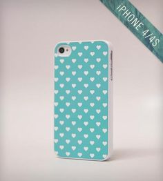 Polka Hearts iPhone Case by BlissfulCASE on Scoutmob Shoppe