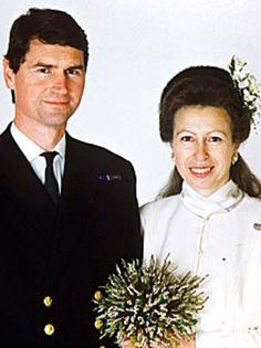 Princess Anne and Timothy Laurence 1992 (her 2nd marriage)