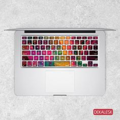 macbook pro keyboard stickers german