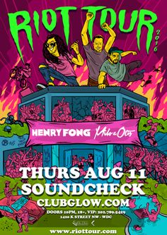 Party it up with Milo & Otis + Henry Fong at Soundcheck on Thursday August 11! Claim some freebies!