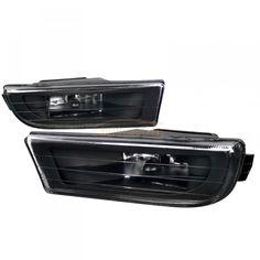 Spec-D LF-E3895JMOEM-VS | 1999 BMW 7 Series Black OEM Fog Lights for Sedan