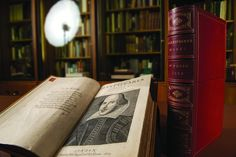 Shakespeare's First Folio, on display in Carnegie Mellon's Posner Center - PHOTO…