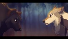 This is from a current RP when Polaris meets Ramala's Fable on her journey to find her missing father =] Fable is (c) Polaris is (c) Alliance Anime Wolf, Cute Animal Drawings, Cool Drawings, Art Wolfe, Wolf Deviantart, Cartoon Wolf, Wolf Life, Wolf Artwork, Fantasy Wolf