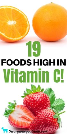 19 Foods High in Vitamin C - The Organic Goat Lady Vitamin C Vegetables, Vitamin C Foods, Different Fruits And Vegetables, How To Cook Kale, Raw Cauliflower, Mango Recipes, Cooking Light, Natural Healing, Health And Wellness