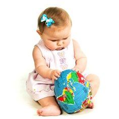 Cool little globe. Hug the earth!