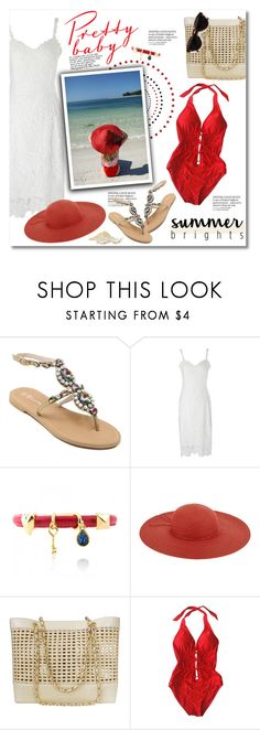 """""""Summer brights"""" by violetta-valery ❤ liked on Polyvore featuring Monsoon, Chanel and RetroSuperFuture"""