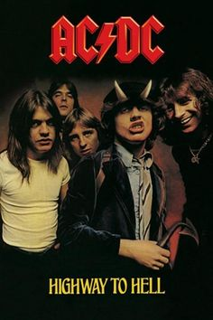AC/DC : Highway to Hell - Maxi Poster 61cm x 91.5cm (new & sealed)