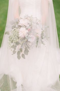Photography : Aly Carroll Photography | Wedding Dress : Mori Lee | Floral Design : Shelly Sarver Read More on SMP: http://www.stylemepretty.com/iowa-weddings/2015/04/03/whimsical-countryside-wedding/