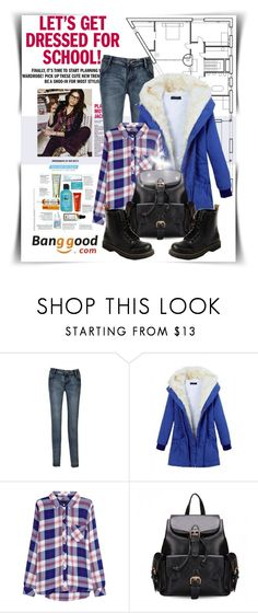 """""""Get Dressed for School"""" by shambala-379 ❤ liked on Polyvore featuring Rails, BangGood, polyvoreeditorial and getdressedforschool"""