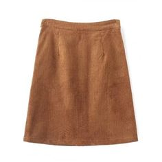 Single Breasted High Waist A-Line Skirt #women, #men, #hats, #watches, #belts, #fashion