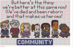 Community Cross Stitch Pattern