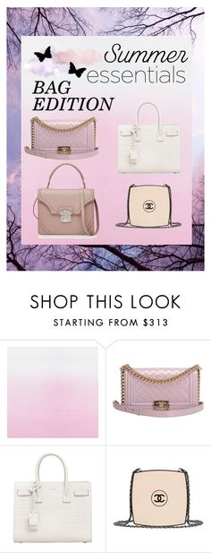 """Summer Essentials - Bag Edition"" by mary03l on Polyvore featuring Chanel, Yves Saint Laurent and Alexander McQueen"