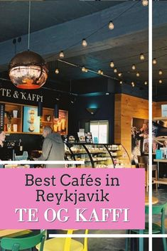 Next time you are in Reykjavik, be sure to stop by Te Og Kaffi, a local favorite when it comes to the black brew! #espressolove #reykjavik #kaffi