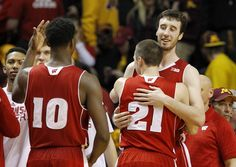 Maryland's long-shot bid to tie for the Big Ten regular-season men's basketball championship and clinch the top seed in next week's conference tournament ended Thursday night when No. 6 Wisconsin earned a 76-63 victory at Minnesota.