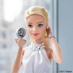 Getting glam for @thetonyawards tonight! It's my first time attending and I'm excited to witness all of the talent and creativity!  #TonyAwards2017 #barbie #barbiestyle