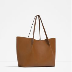 Image 2 of HANDLE DETAIL TOTE from Zara