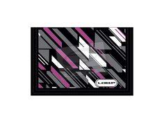 sportovní peněženka LOAP - Clou Geometric-black