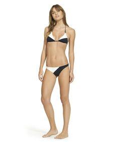 a418433495141 Betsey Black Basic Bottom by ViX Swimwear. Triangle TopTriangle BikiniVix  ...