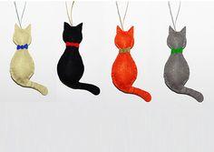 cat ornament cats christmas holiday christmas tree noel navidad meowganizer.com