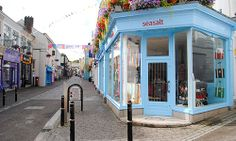 Sea Salt - Church Street, Falmouth Places Around The World, Around The Worlds, Falmouth Cornwall, British Isles, Sea Salt, Wales, Pond, Scotland, Ireland