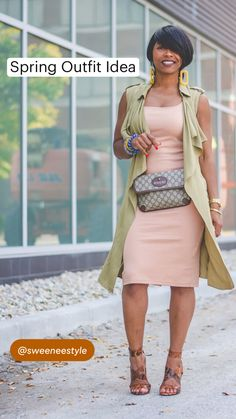Casual Work Outfits, Classy Outfits, Stylish Outfits, Curvy Girl Fashion, Cute Fashion, Fashion Outfits, Spring Summer Fashion, Spring Outfits, Boondocks
