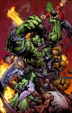#Hulk #Fan #Art. (WORLD WAR HULK #2 Cover) By: David Finch. (THE * 5 * STÅR * ÅWARD * OF: * AW YEAH, IT'S MAJOR ÅWESOMENESS!!!™) ÅÅÅ+