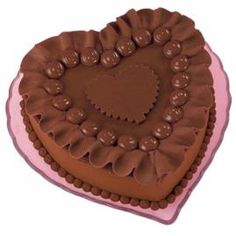Cake Decorating Requirement #10: Decorate using chocolate mold. (Chocolate Can Charm Cake)