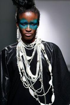 #ndaucollection Look 1 Zimbabwe Fashion week 2013 Photography / SDR Photo
