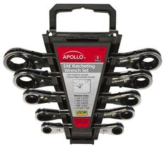 The Apollo Tools metric ratcheting wrench set is heat treated for strength and chrome plated to resist corrosion. Set includes wrench sizes: and Wrench Sizes, Ratcheting Wrench Set, Precision Tools, Garden Tool Set, Mechanic Tools, Wrench Tool, Tools And Equipment, Hand Tools, Tools Tools