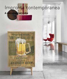 Credenza vintage birra