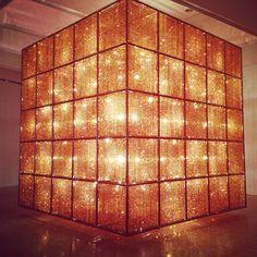 Ai WeiWei's Light Cube @ Hirschhorn in D.C.