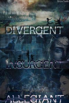 Divergent. Insurgent. Allegiant. The new classics www.adealwithGodbook.com